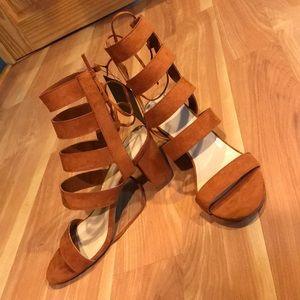 Sandal heels from Forever21